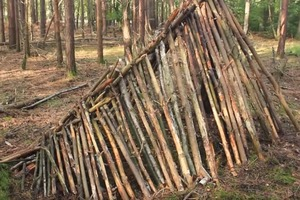 Bushcraft Shelters - The A Frame Shelter