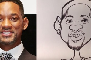 How to Caricature - Will Smith