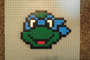 LEGO® Pixel Art - Leonardo