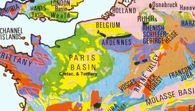 Geological Map of Europe