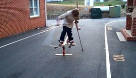 Awesome Skateboard Slide