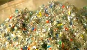 How Plastic Bottles become Polyester