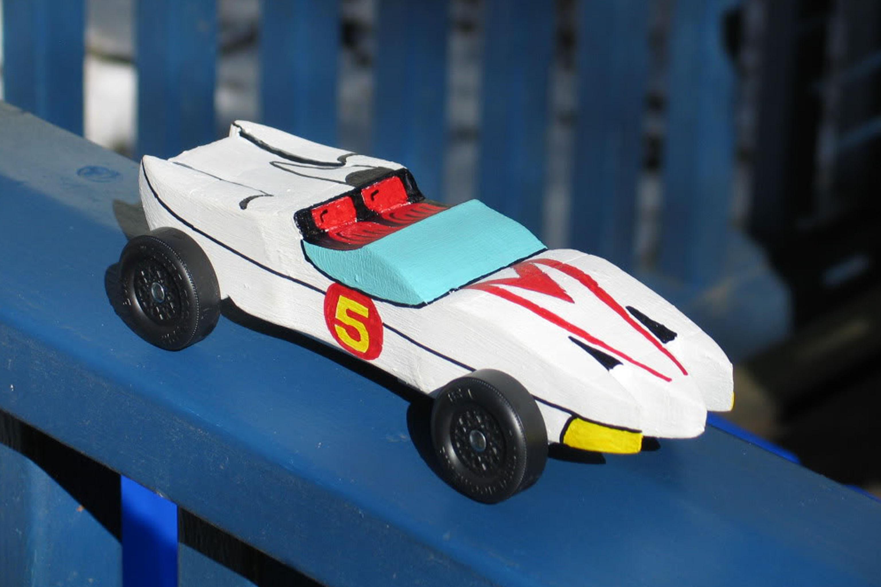 Mach 5 Pinewood Derby Car Template