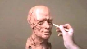 Time Lapse Head Sculpt