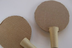Cardboard Ping Pong