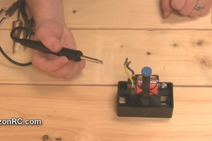 How To Solder an RC Motor