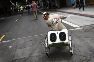 Lowriders, High Enthusiasm at Sunday Streets