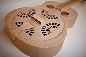 Acoustic Cardboard Guitar