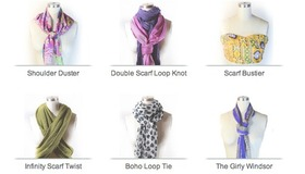 Scarf Knot Library
