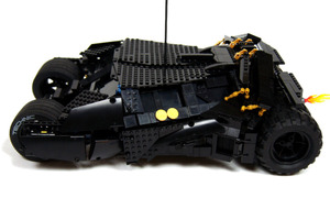 Lego Technic Motorized Batmobile
