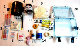 Assemble a Home First Aid Kit