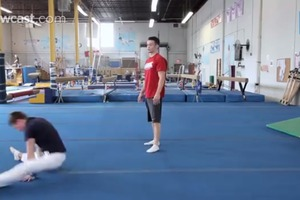How to Do a Forward Straddle Roll
