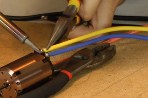 How To Solder A Motor to An ESC