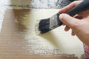 Painting Cardboard