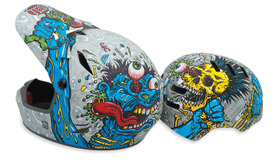 Helmets by Jim Phillips