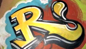 Graffiti Style Letters