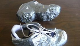 Duct Tape Cleats