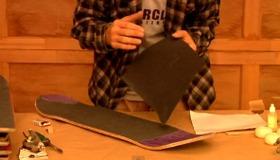 Skateboard Maintenance : Change Grip Tape