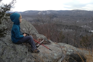 Mountain Climbing - windbeam mountain, new jersey