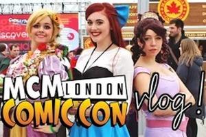London Comic Con October 2014 Vlog