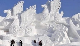 Snow Sculpture Inspiration