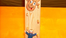 Sliding Tumble Peg Board