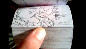 Sonic the Hedgehog Flipbook