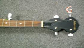 Banjo Standard Tuning