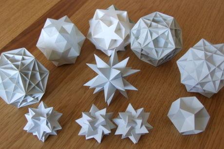 Make 3D Polyhedra - DIY