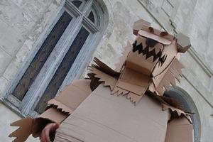 Cardboard Carnival Costumes