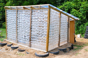 How To Make a Greenhouse From Plastic Bottles