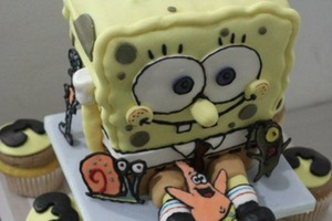 3D Spongebob Cake