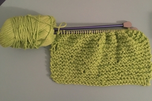 First Knitting Project