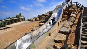 Adventure Playground Slide