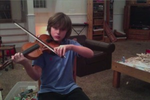 Improvised Violin