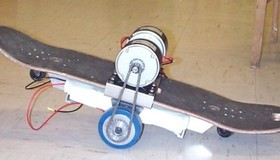 The Almost Self Balancing 2 Wheeled Electric Skateboard