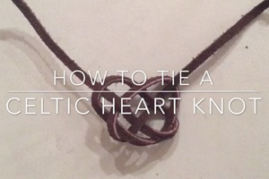 Celtic Heart Knot Tutorial