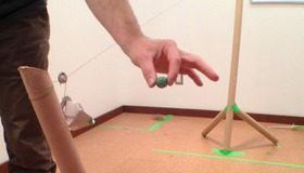 Cardboard Tube Zipline
