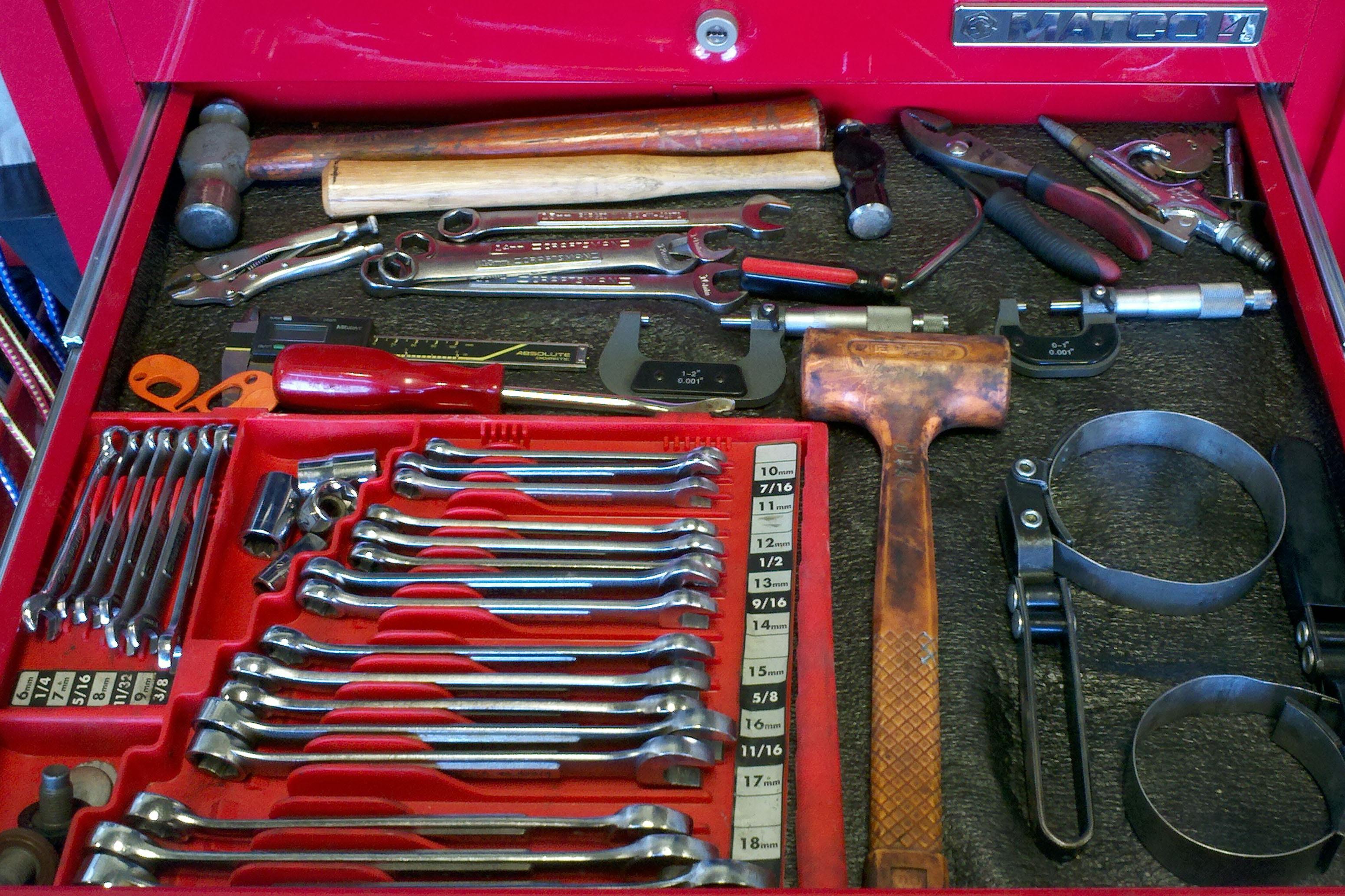 Mechanic Organize Your Tools