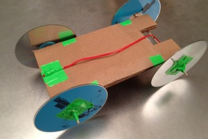 How To Make a Rubber Band-Powered Car