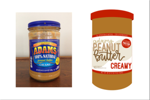 Redesign Peanut Butter