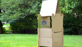 Cardboard Construction Play Set