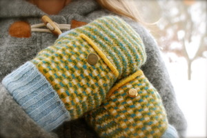 How To Make Mittens from a Sweater