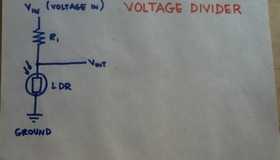 Voltage Divider Illustration