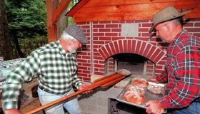 Large Brick Oven