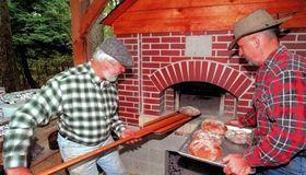 Large Brick Oven