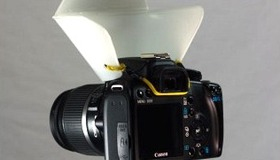 Pop Up Flash Diffuser