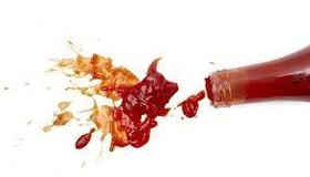 Ketchup + Baking Soda Prank