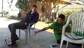 Chair Prank Fail