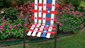 Duct Tape Woven Chair